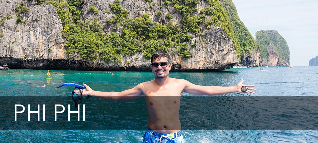Sailing to Phi Phi